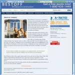 Bestoff Windows About Us Page
