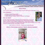 Old About Page for Majestic Massage